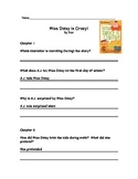 Miss Daisy is Crazy Comprehension Packet