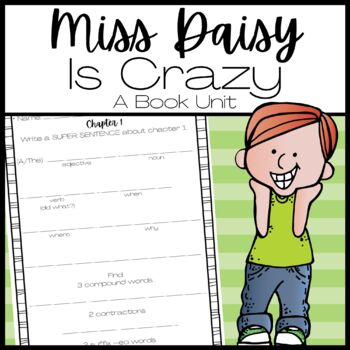 Miss Daisy is Crazy Comprehension Questions