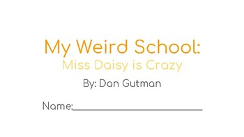 Miss Daisy is Crazy Novel Study