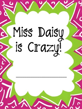 Miss Daisy is Crazy Packet
