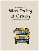 My Weird School #1: Miss Daisy is Crazy! comprehension questions
