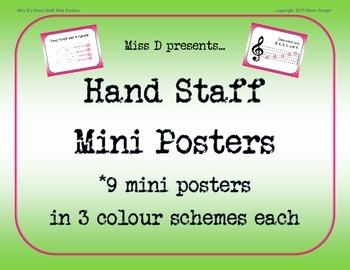 Miss D's Hand Staff Mini Posters Full Version