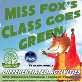 Miss Fox's Class Goes Green Interactive Notebook Reading Activities {Earth Day}