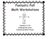 Miss Frizzell's Fantastic Fall Math Workstations Numbers 1