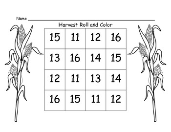 Miss Frizzell's Kindergarten Math Work Stations Numbers 11-20 PREVIEW