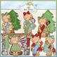 Miss Ginger Clip Art Bundle - 6 Colored Clip Art Sets