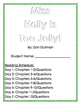Miss Holly is Too Jolly: Holiday Book Club  (Questions by Chapters)