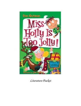 Miss Holly is Too Jolly Vocab and Questions