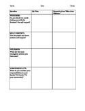 Miss Jane Pittman Theme Chart