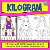 Grams and Kilograms - Meet Miss Kilogram - Posters