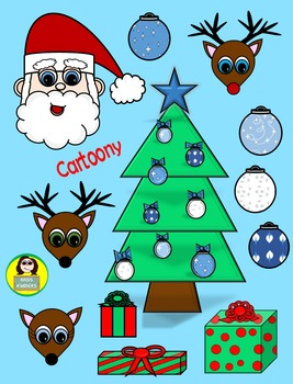 Miss Kinders Christmas Clip Art 1
