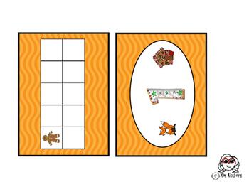 Miss Kinders Gingerbread Ten Frames