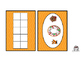 Ten Frames Gingerbread Man Theme