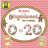 Ten Frames Gingerbread Man Theme