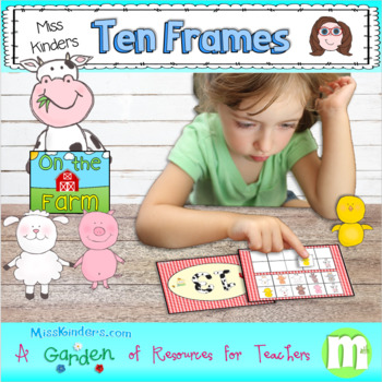 Miss Kinders On the Farm Ten Frames