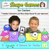 Shape Games for Math Centers