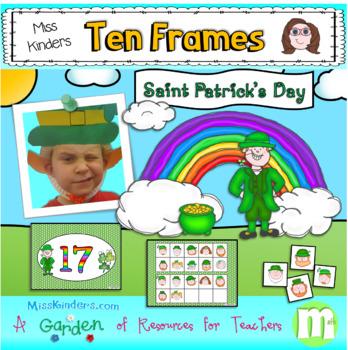 Ten Frames Saint Patricks Day Theme