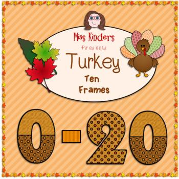 Ten Frames Thanksgiving Theme