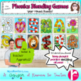 Phonics Blending Games Year Round Bundle