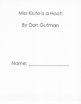 Miss Klute is a Hoot Question Guide