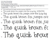 Miss Law's Type  Font