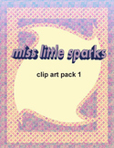 Miss Little Sparks Clip Art 1