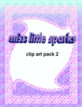 Miss Little Sparks Clip Art 2