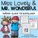 Suffixes -LY & -FUL Printables, Center & Games