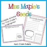 Miss Maple's Seeds Activities (TN unit starter)