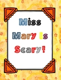 Miss Mary Is Scary ( by Dan Gutman) Book Packet