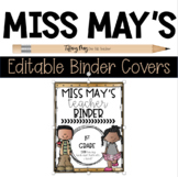 Miss May's Editable Binder Covers