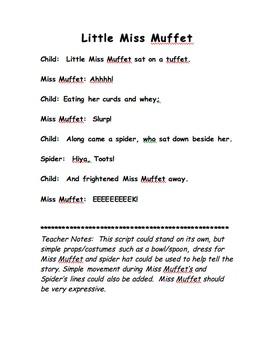 Miss Muffet Script
