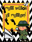 Miss Nelson Is Missing: Mini-Lesson