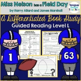 Miss Nelson Has A Field Day, Level L, Differentiated Lesson Plan