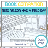 Miss Nelson Has a Field Day Book Companion:  Speech Language Therapy Activities