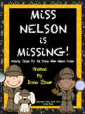 Miss Nelson Is Missing, Comes Back, Has A Field Day ~ Unit For All 3 Books!