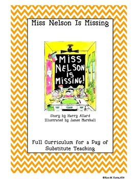 Miss Nelson Is Missing Cross-Curricular Substitute Workbook