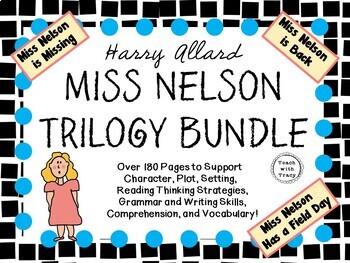 Miss Nelson Trilogy - Three Favorite Literature Studies!