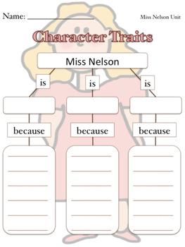 Miss Nelson Unit {CCSS Aligned}