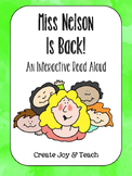 Miss Nelson is Back! Interactive Read Aloud