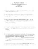 Miss Nelson is Back - Parent/Teacher Guide