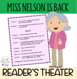 Readers' Theater Script & MORE! - Miss Nelson is Back - Fl