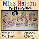 Miss Nelson is Missing Lapbook