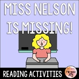 Miss Nelson is Missing Activities