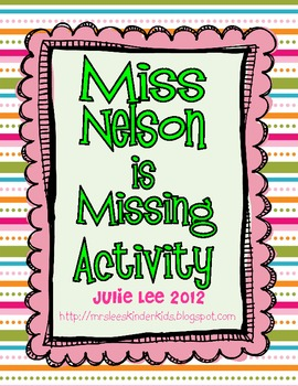 Miss Nelson is Missing Activity