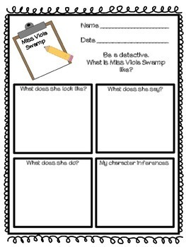 Miss Nelson is Missing Activity Pack - includes Readers' Theater!!