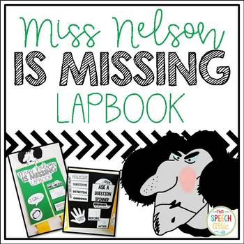 Miss Nelson is Missing Book Companion Lapbook