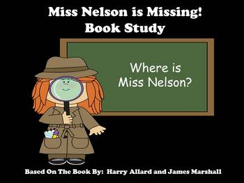 Miss Nelson is Missing! - Book Study