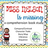 Miss. Nelson is Missing Comprehension Packet book study