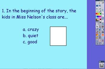 Miss Nelson is Missing Flipchart